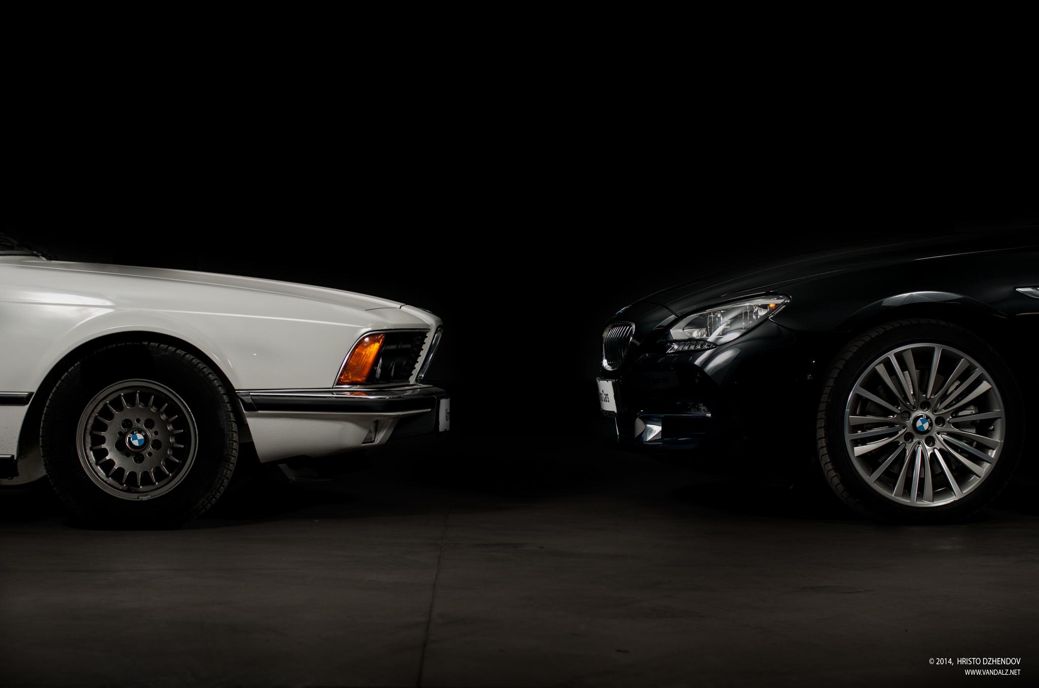 187 Evolution Bmw 6 Series 628csi E24 Vs 640d Gran Coupe